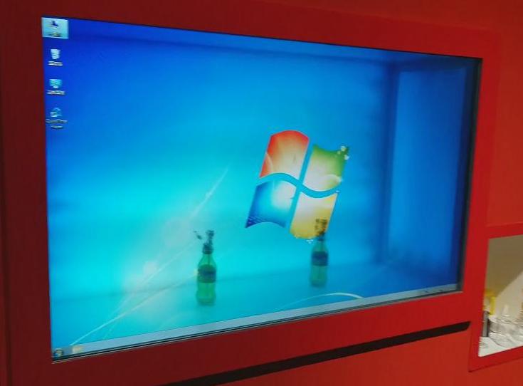 42寸透明屏幕-科技馆