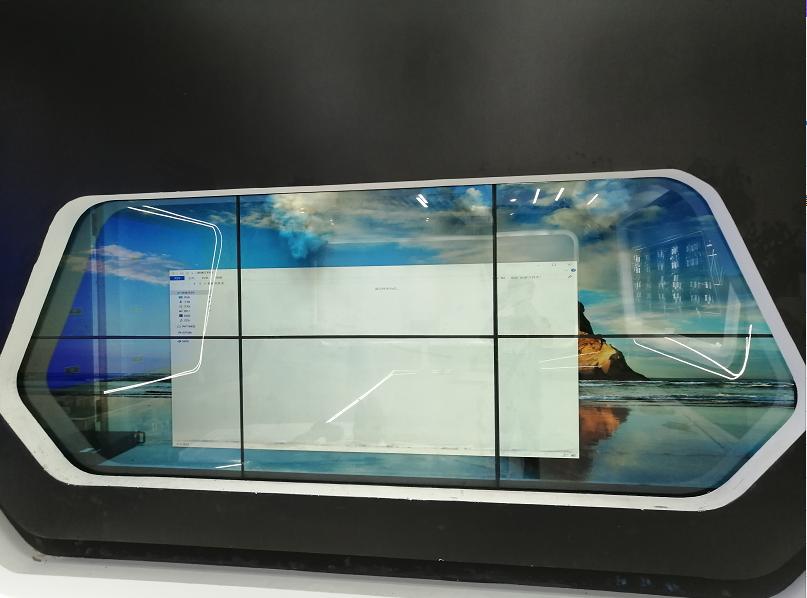 2x3透明液晶拼接屏-郑州资源及垃圾分类教育基地