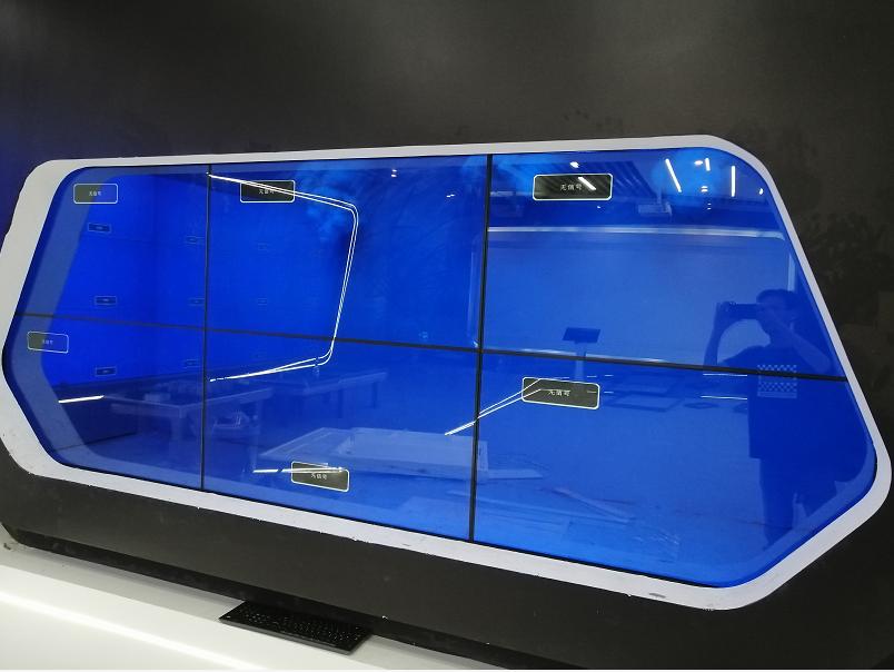 46寸2X3透明液晶拼接显示屏